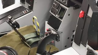 High-G Training Facility cockpit
