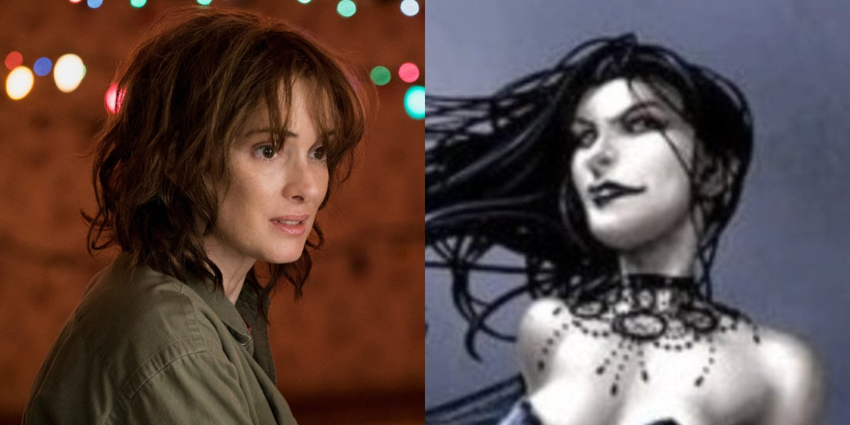 Stranger Things' Winona Ryder and Selene from X-Men