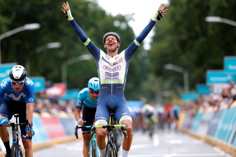 Taco van der Hoorn wins stage three of Benelux Tour 2021