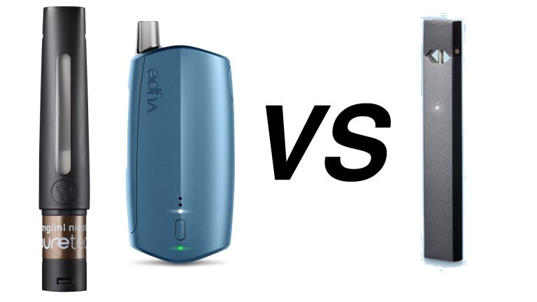 Vype iSwitch vs Juul