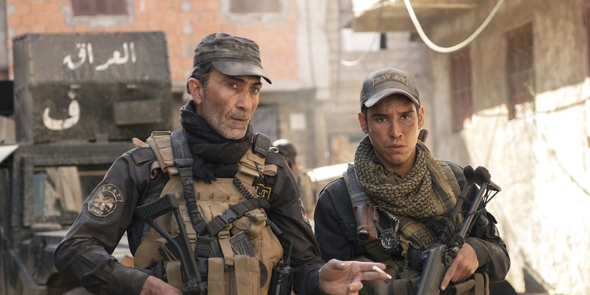 Soldiers in uniform.