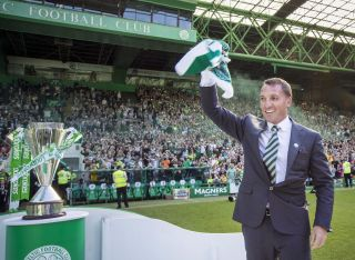 Brendan Rodgers Unveiling Press Conference – Celtic Park