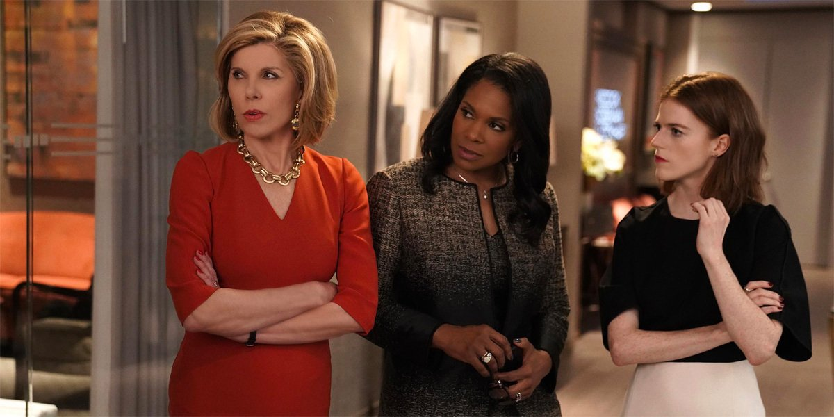 Some of the cast of The Good Fight on Paramount+.