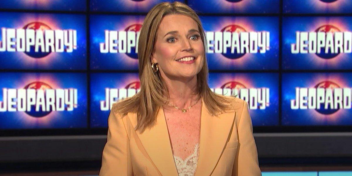 Savannah Guthrie on Jeopardy!