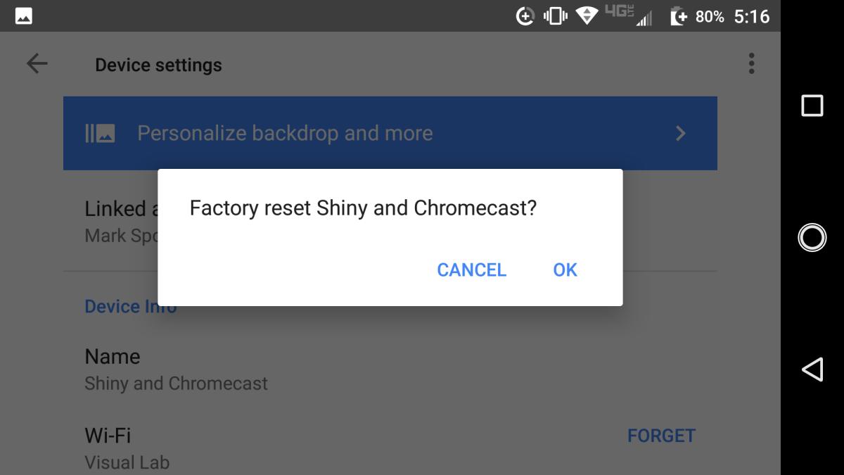 How to Factory Reset Google Chromecast | Tom's Guide