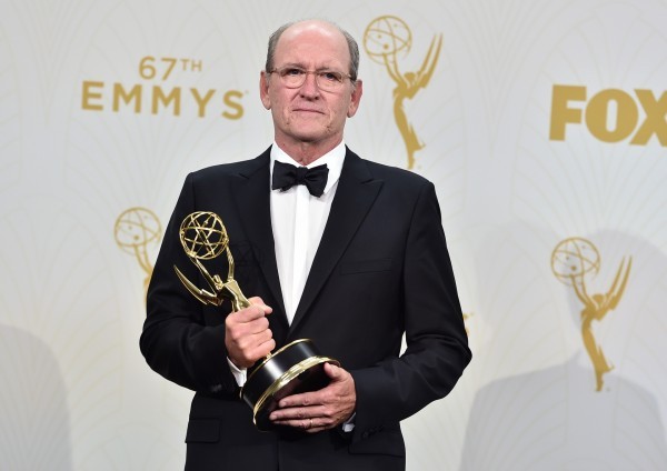 Richard Jenkins, winner of the award for outstanding lead actor in a limited series for