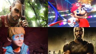 Vass from Far Cry 3, Mario Tennis Aces, Captain Spirit and Luke Cage