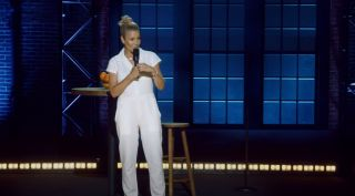 Screen grab from Chelsea Handler's special 'Evolution' on HBO Max