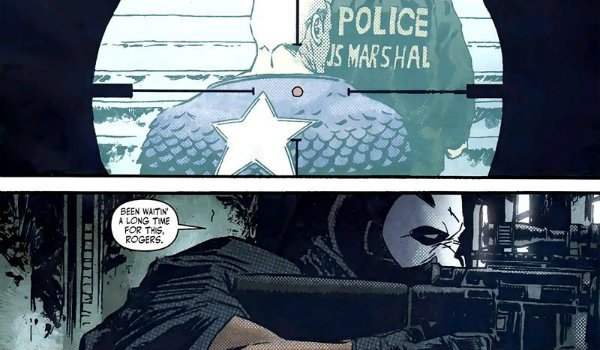 Crossbones kills Steve Rogers Captain America Civil War
