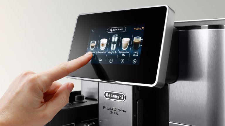 DE'LONGHI coffee machine touch screen