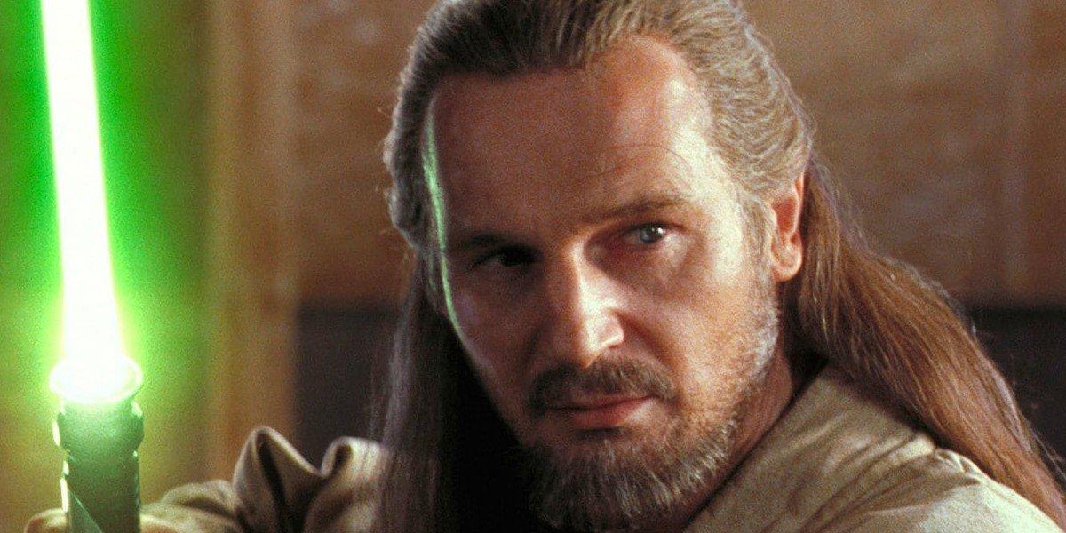 Liam Neeson as Qui-Gon Jinn in Star Wars: Episode I - The Phantom Menace