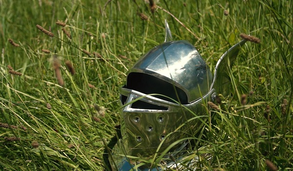 Adam Savage's Armor Build Helmet