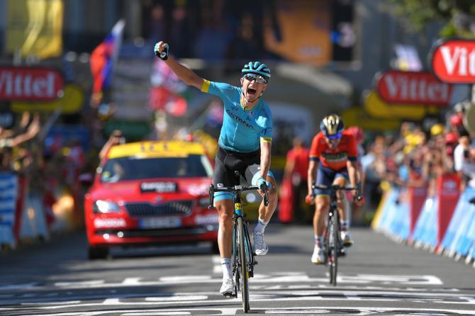 Magnus Cort Nielsen wins stage 15 at the Tour de France