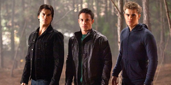 The Vampire Diaries Stefan Salvatore Tyler Lockwood Stefan Salvatore Ian Somerhalder Michael Trevino