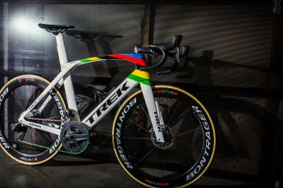 Mads Pedersen's World Champion Trek Madone