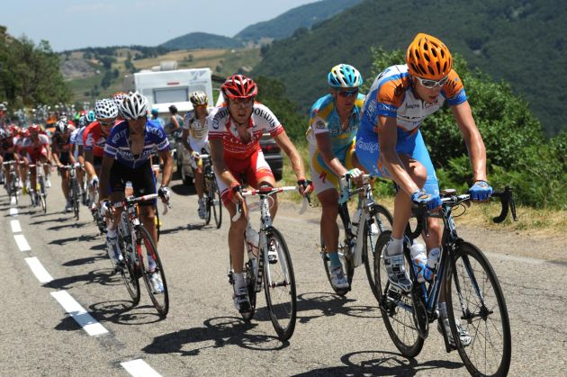 Ryder Hesjedal escape group, Tour de France 2010, stage 12