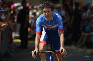 Romain Sicard at the 2020 Tour de France
