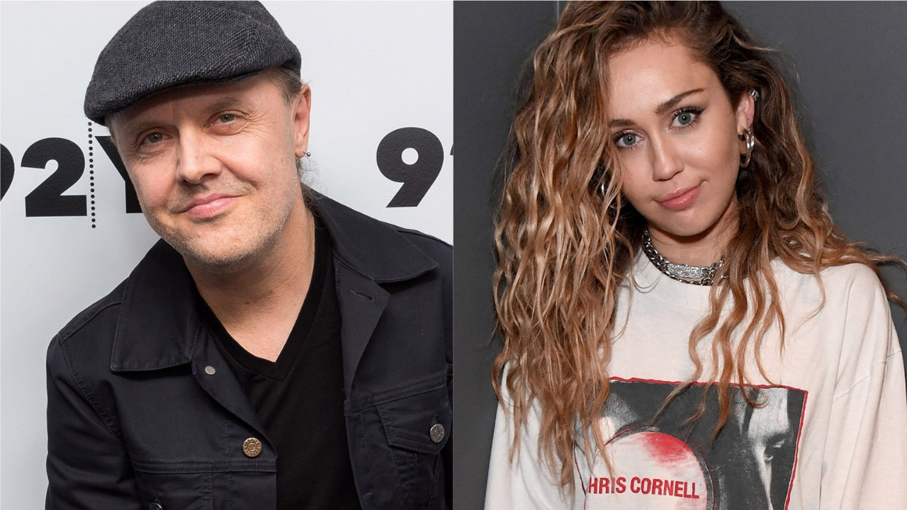 """Metallica's Lars Ulrich left """"stunned"""" by Miley Cyrus' Chris Cornell tribute"""