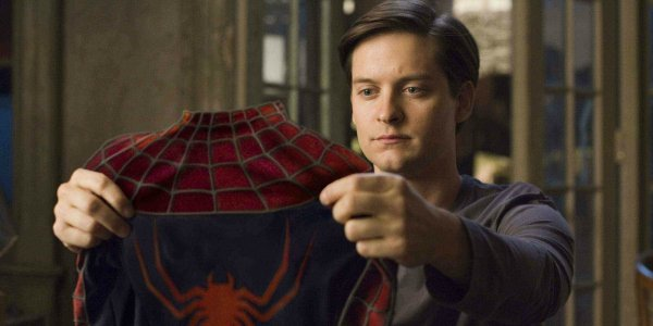 Tobey Maguire is Spider-Man