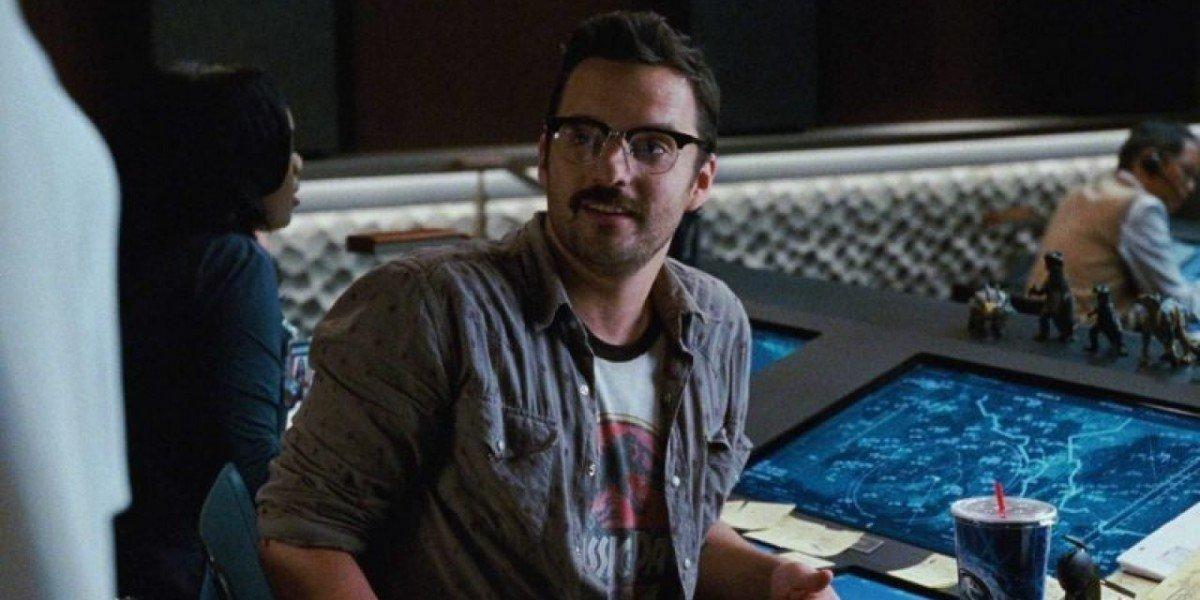 Jake Johnson in Jurassic World