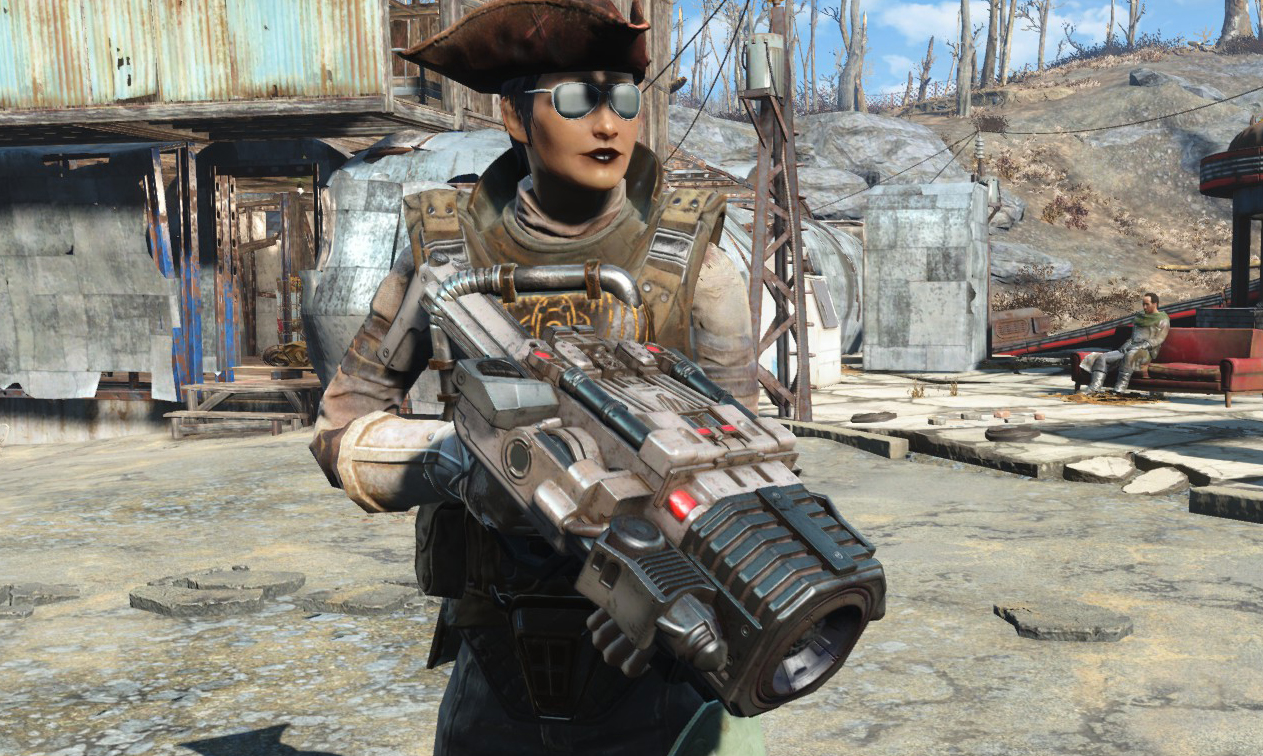 Doom's BFG and Marine armor added to Fallout 4's Creation