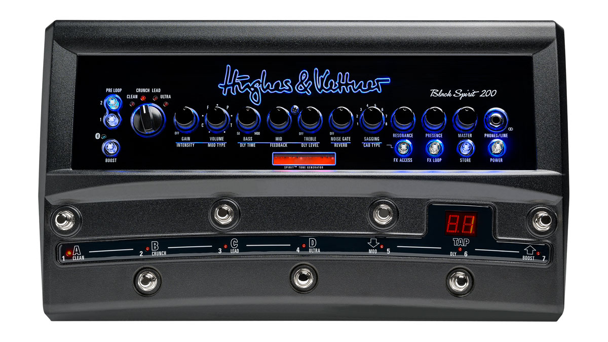Hughes & Kettner brings the Black Spirit 200 to the floor with feature-packed pedalboard amp | Guitarworld