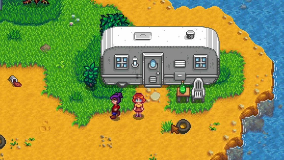 You can build Pam a house in the new Stardew Valley update