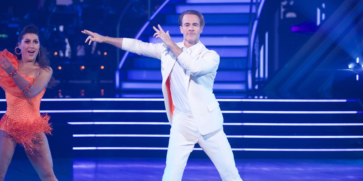 dancing with the stars james van der beek abc