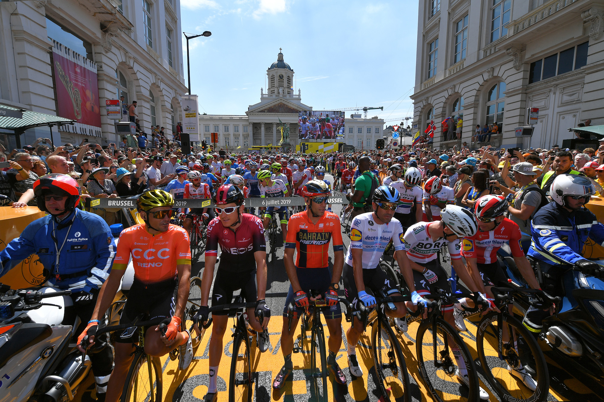 Tour de France and Giro d'Italia could both start from Prague in future, according to reports