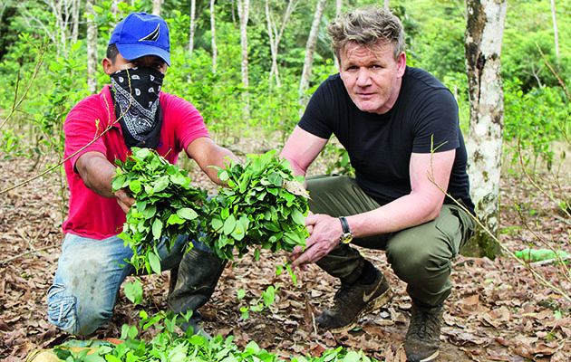 Gordon Ramsay sticks knife into Jamie Oliver