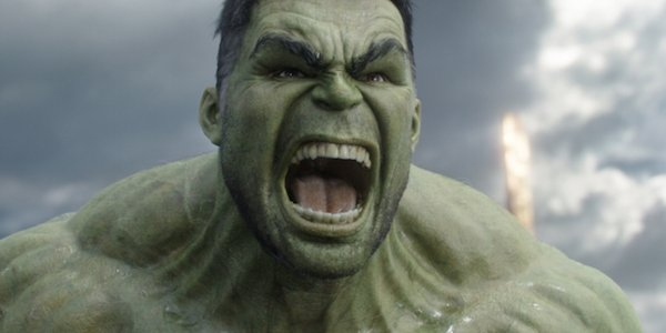 Thor: Ragnarok Hulk's angry face