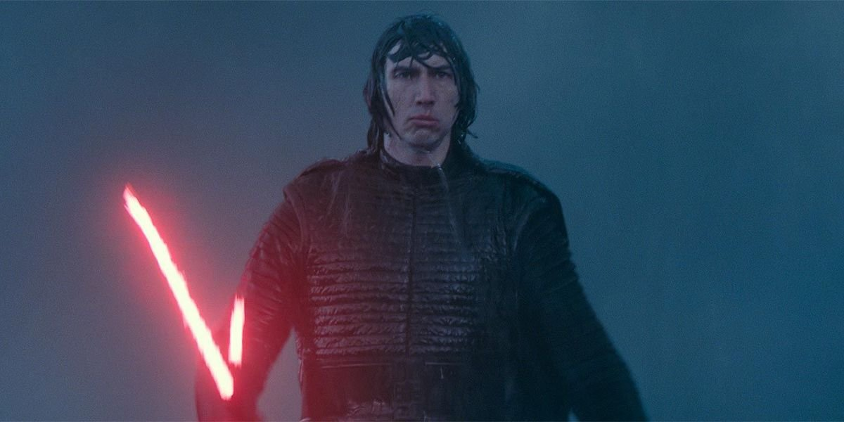 Adam Driver as Kylo Ren in Star Wars Rise of Skywalker