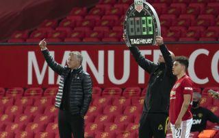 Man Utd substitutions