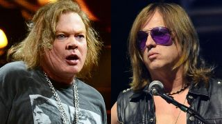 Axl Rose and Chris Pitman