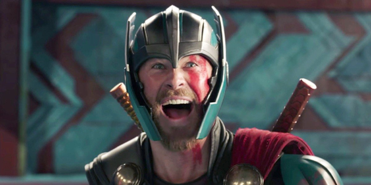 Thor: Ragnarok Thor yes face