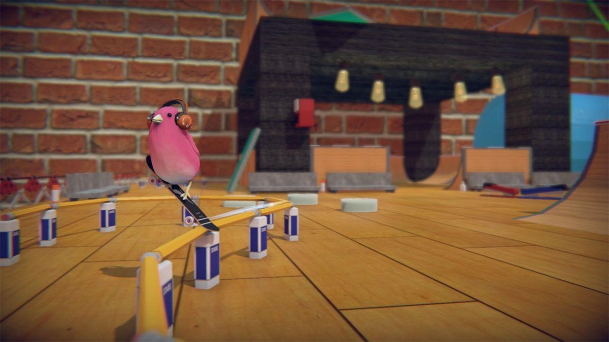 Skatebird is the indie reincarnation of Tony Hawk's Pro Skater