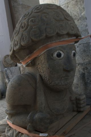 Kunulua statue in Patina.
