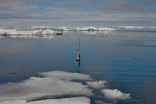 Argo project collects ocean temperature and salinity with 3,500 free-drifting floats.