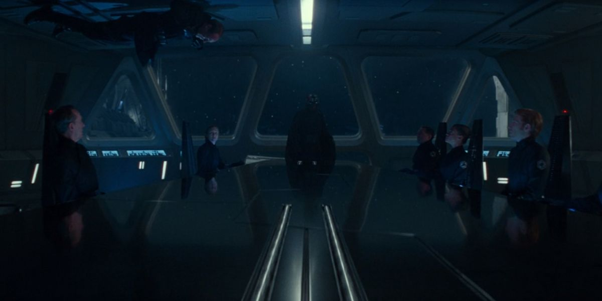 A shot of the First Order in Star Wars: The Rise of Skywalker
