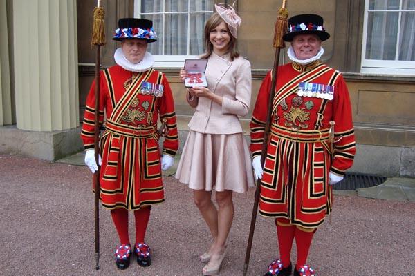 Joanna Rowsell MBE, February 2013