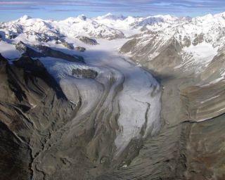 Gulkana glacier in 2003