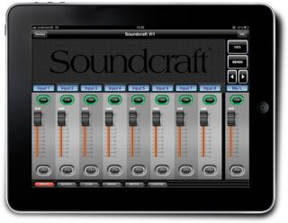 HARMAN's Soundcraft Announces ViSi iPad Remote Control