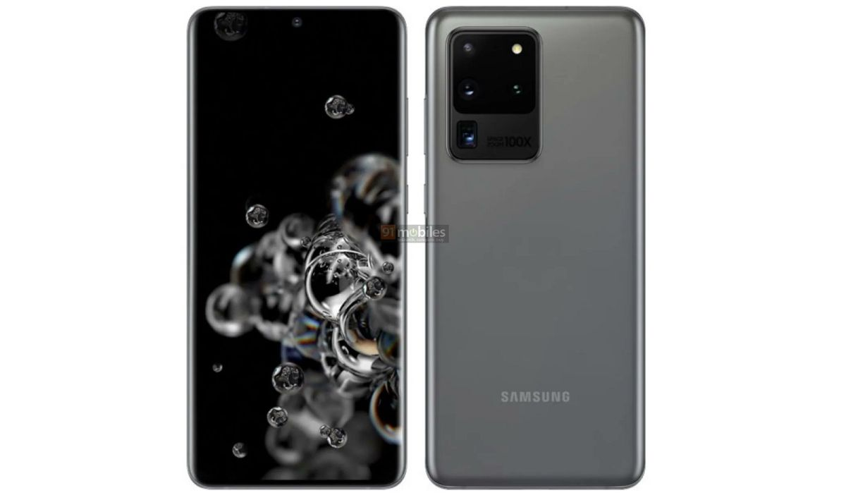 See the Samsung Galaxy S20 Ultra 5G's 48MP periscope zoom