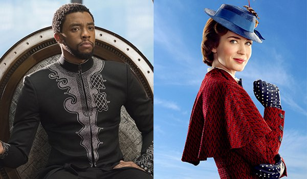 T'Challa and Mary Poppins