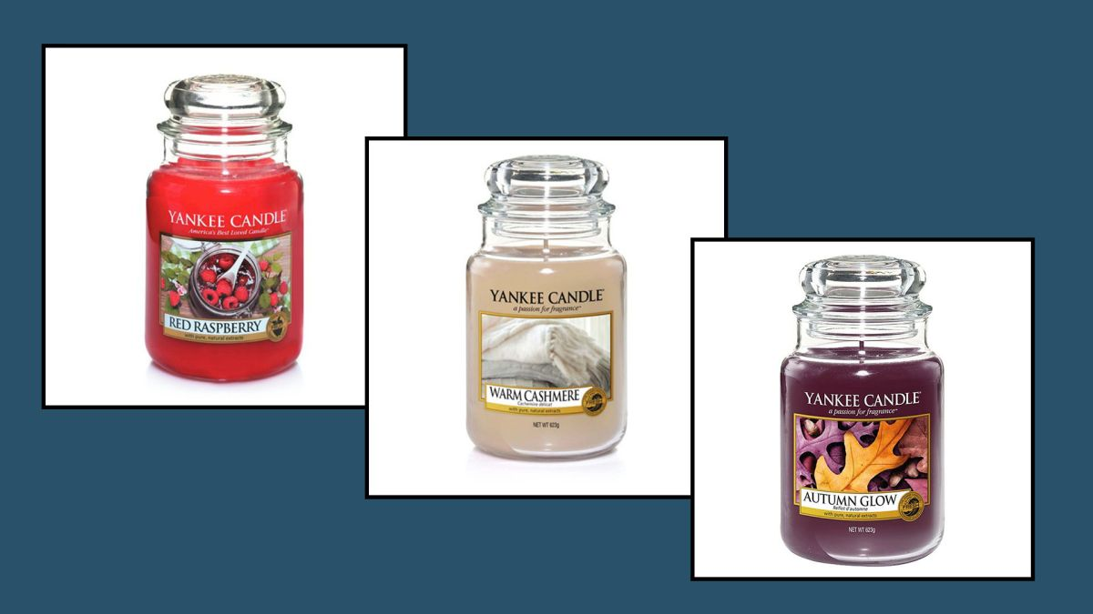 Keep your home smelling beautiful and fresh with these stunning Yankee Candles