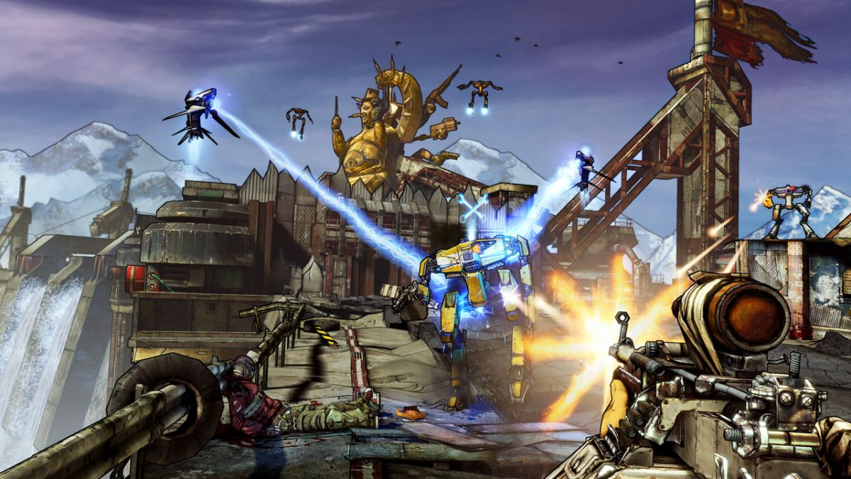 Borderlands 2 peaked at almost 60,000 players on Steam last weekend