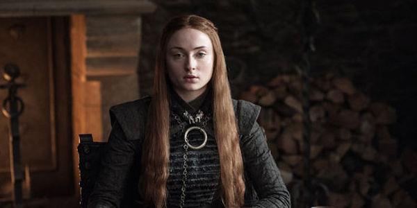 Sansa in Winterfell during Season 7