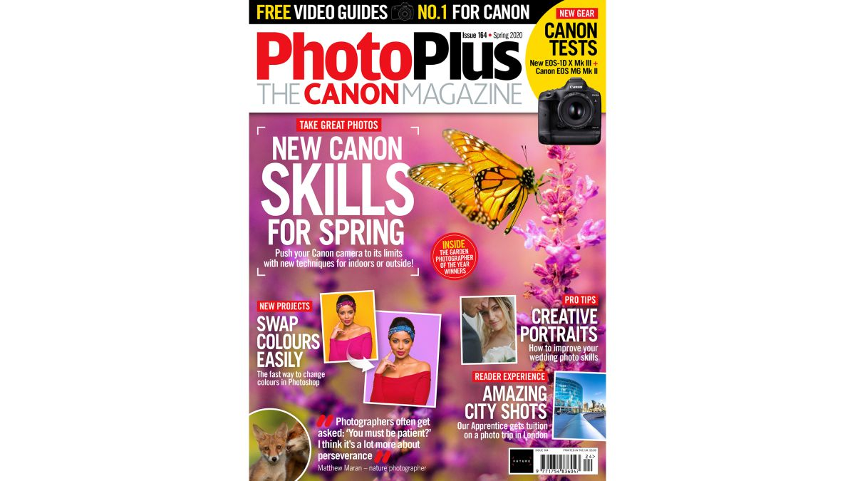 New Spring 2020 issue of PhotoPlus: The Canon Magazine now on sale!