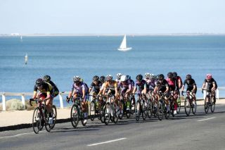 Day 2 of the 2020 Lexus Blackburn Bay Crits takes the riders along Geelong's waterfront on the longer, 1.9km Eastern Gardens circuit