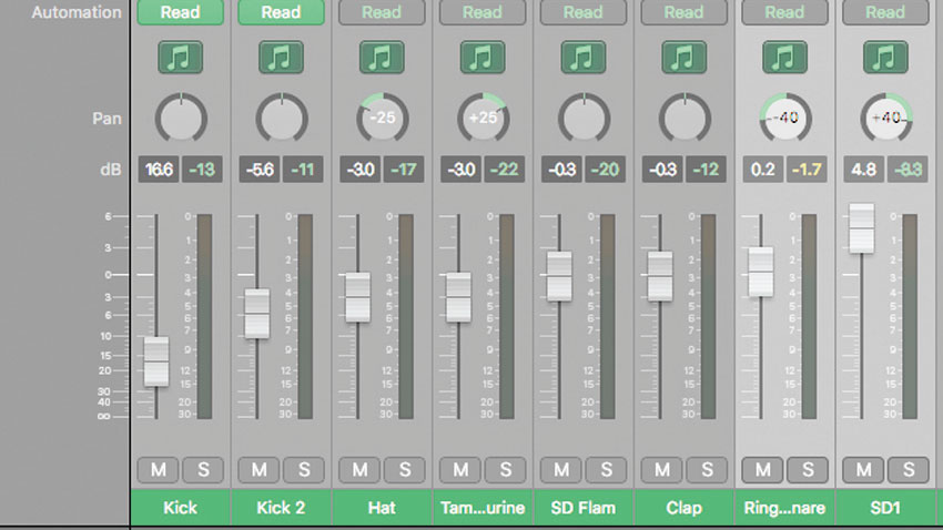 How to make your drums sound wider